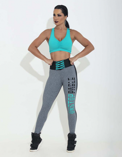 LEGGING HIPKINI PLAYOFF CHERRY